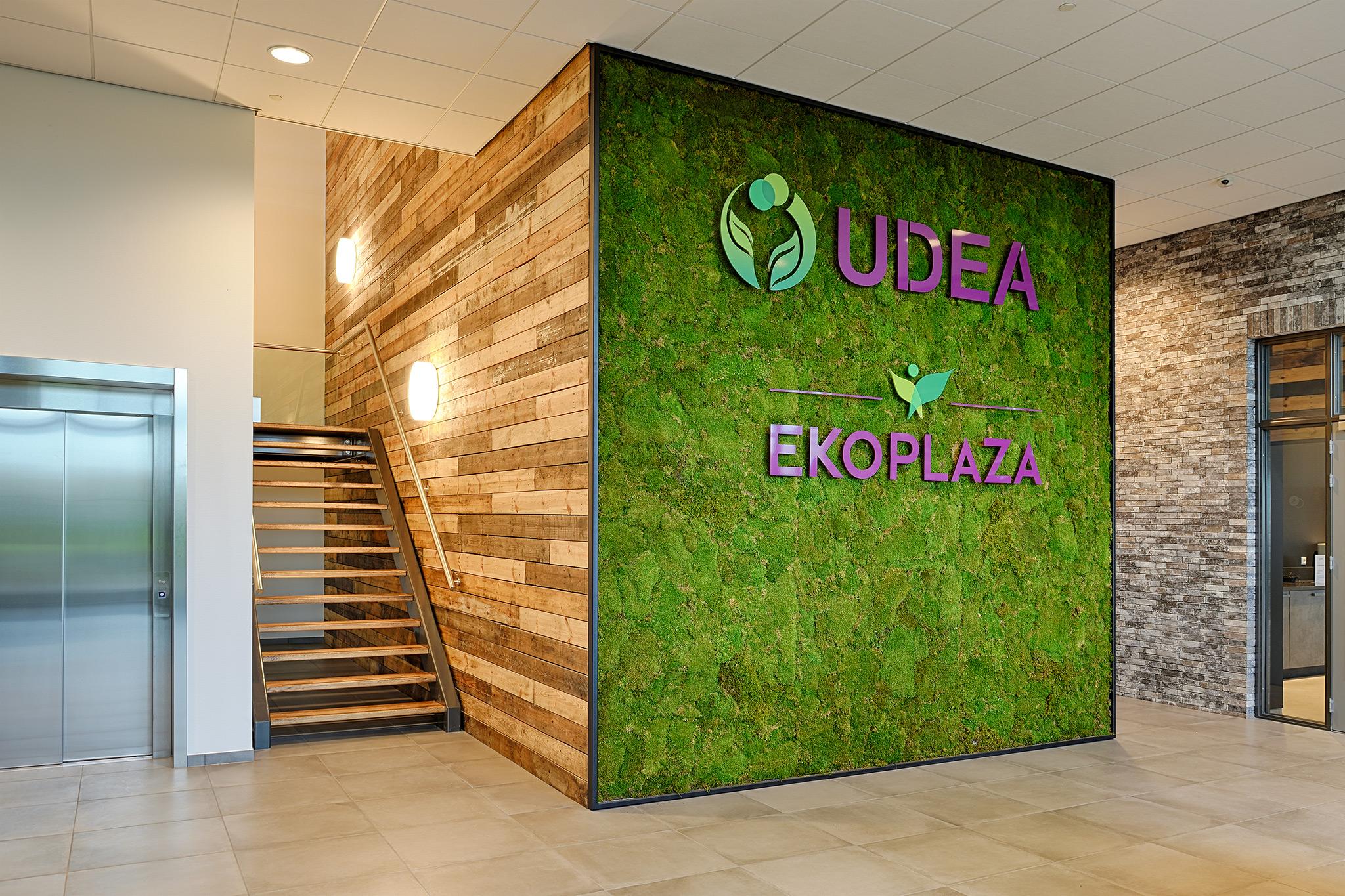 Udea en Ekoplaza nog groener dankzij GRØNN