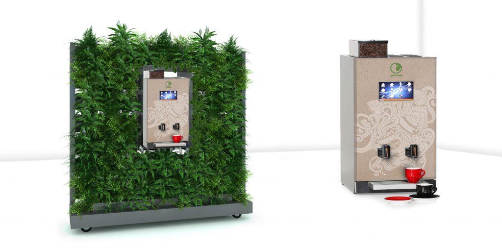Hygge kaffe vakbeurs facilitair grønn vantienen