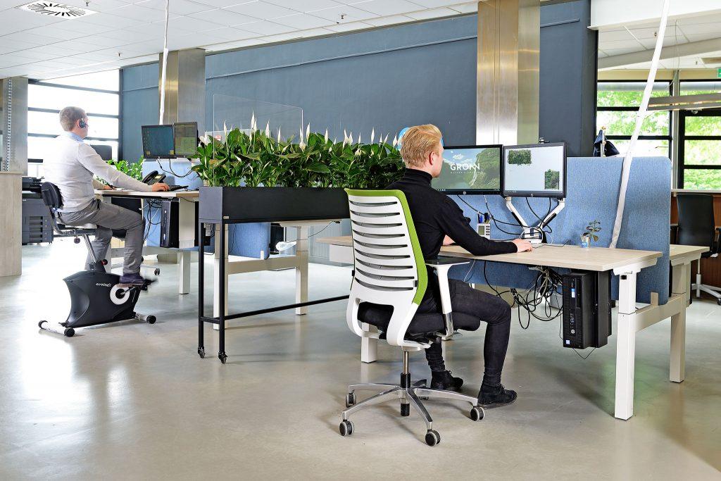 GRØNN veilig werken op een groen kantoor